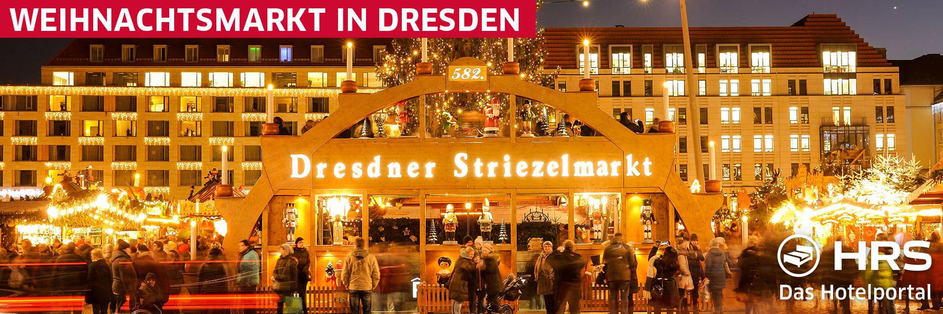 Informationen zu Weihnachtsmärkten in Dresden - Präsentiert von HRS