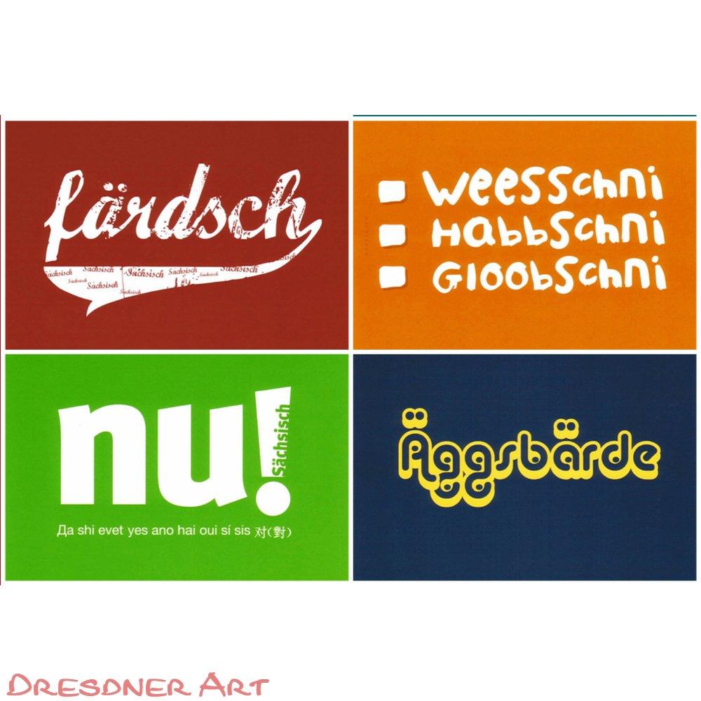 Sprache lustig sächsische Sächsisch dialekt